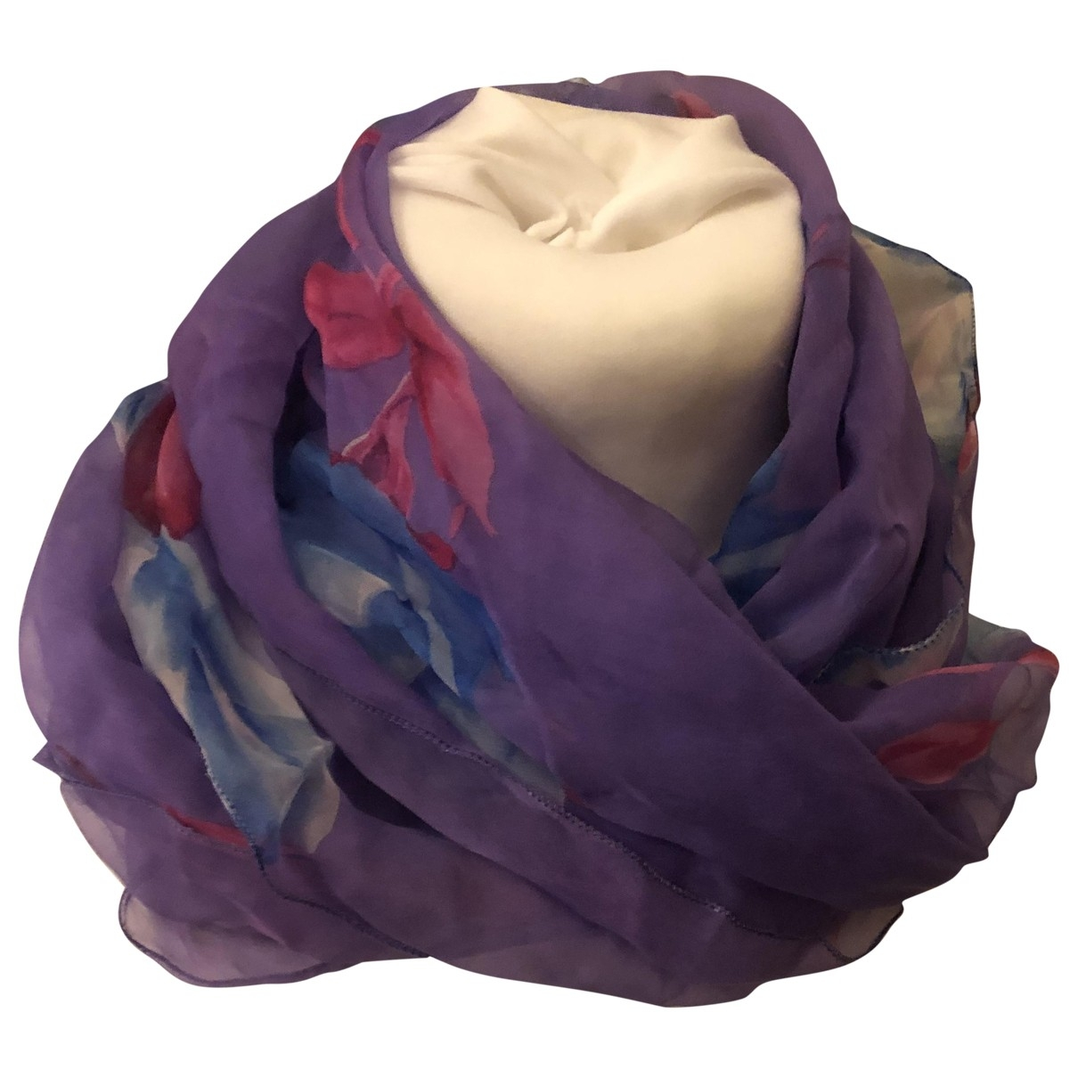 Dolce & Gabbana \N Purple Silk scarf for Women \N