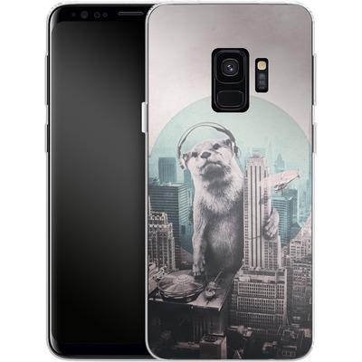 Samsung Galaxy S9 Silikon Handyhuelle - DJ von Ali Gulec