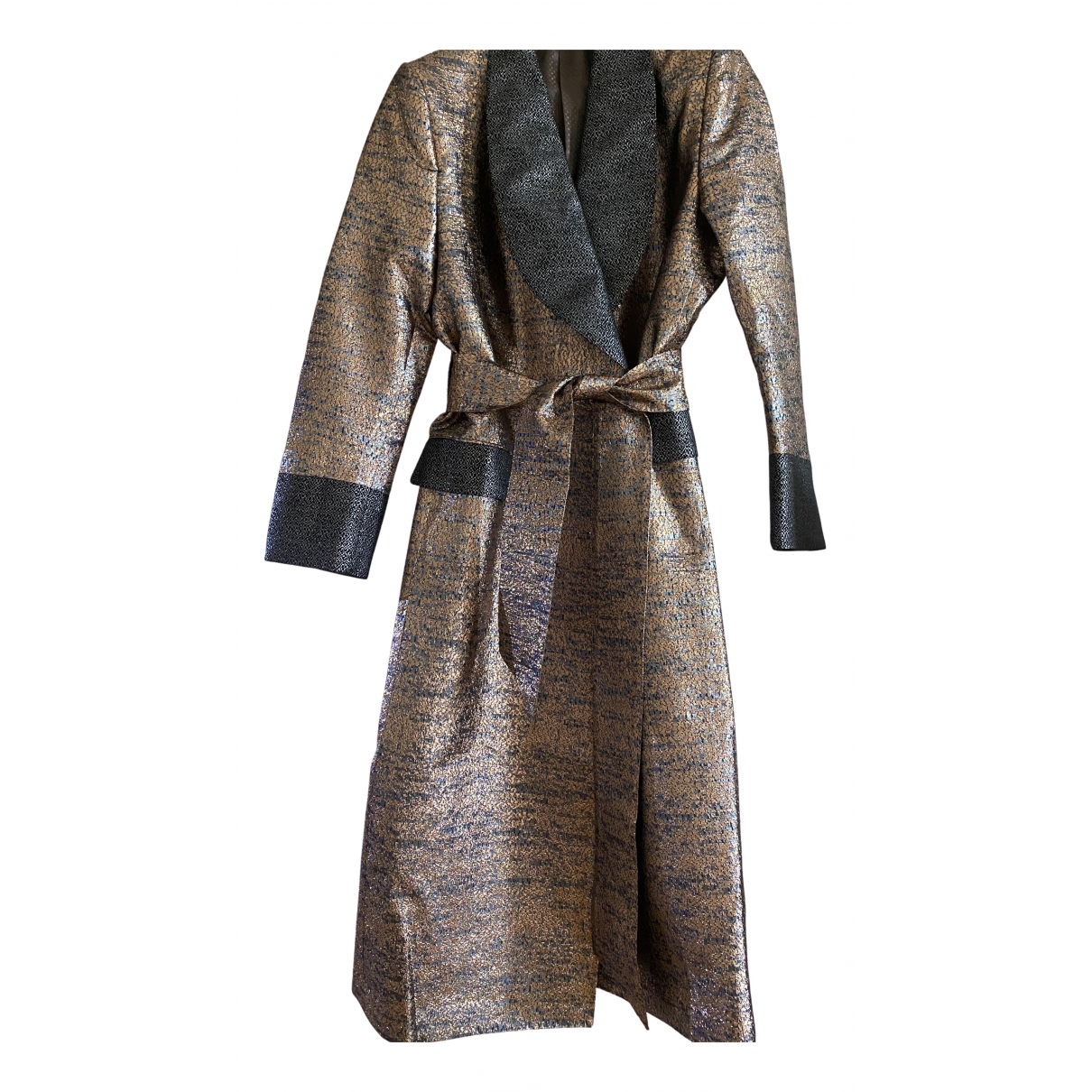 Dolce & Gabbana - Manteau   pour femme - metallise