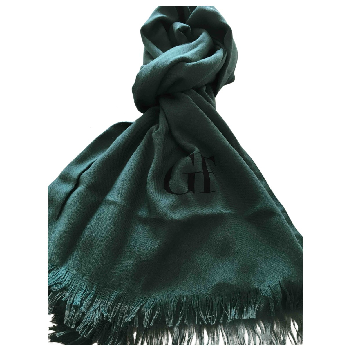 Gianfranco Ferre \N Schal in  Gruen Polyester