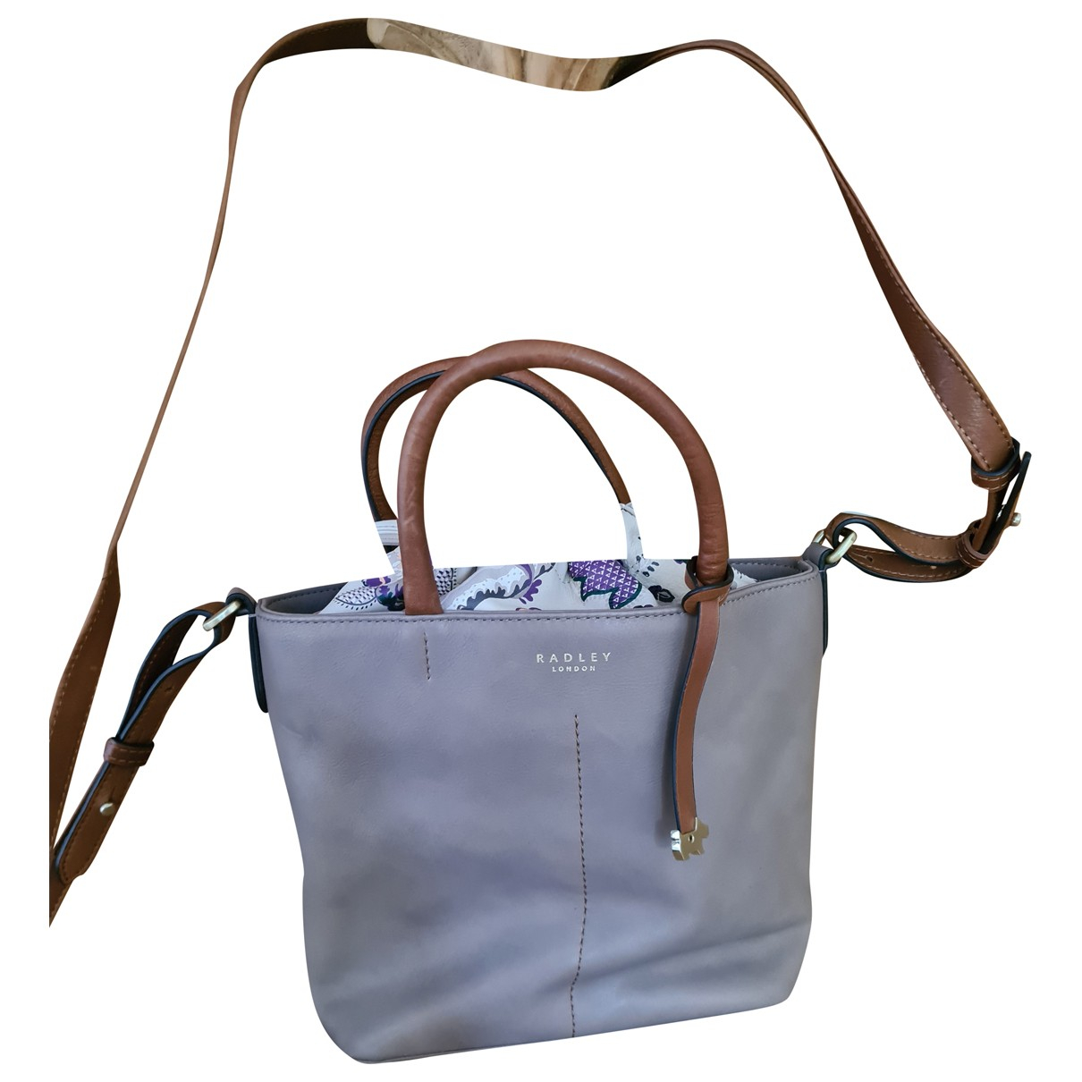Radley London N Beige Leather handbag for Women N