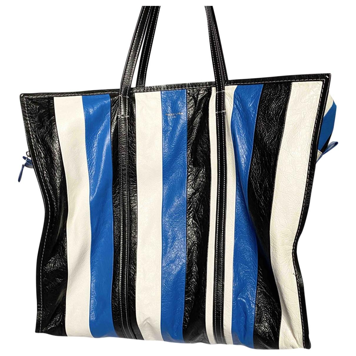 Balenciaga - Sac de voyage Bazar Bag pour femme en cuir - multicolore
