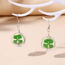 Plant Decor Drop Earrings
