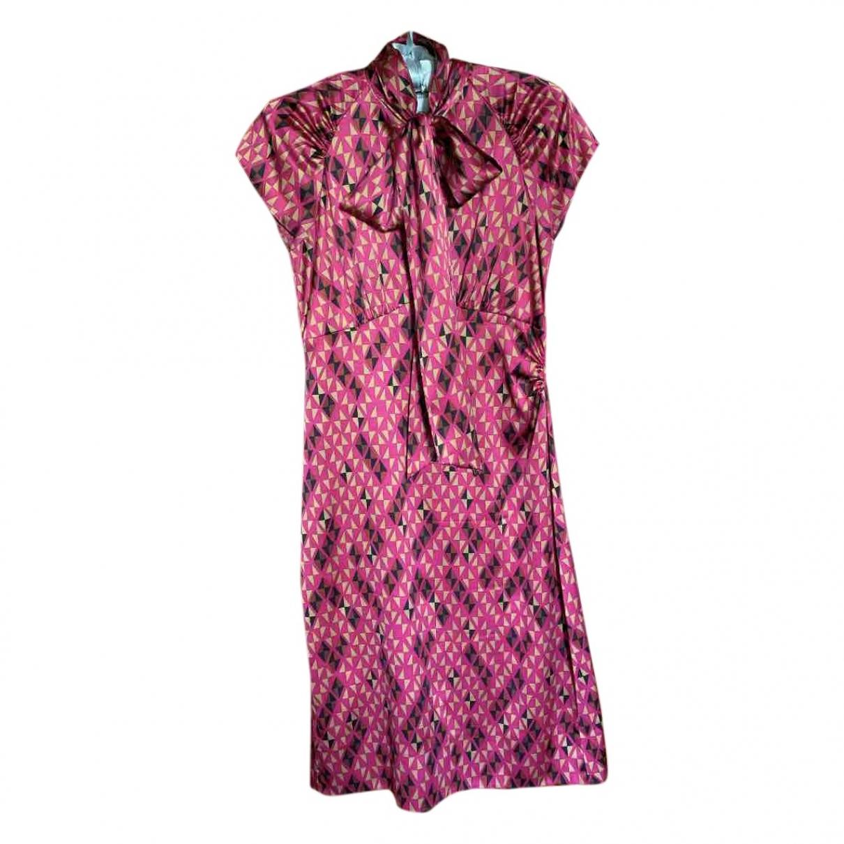 Diane Von Furstenberg \N Multicolour Silk dress for Women 2 US
