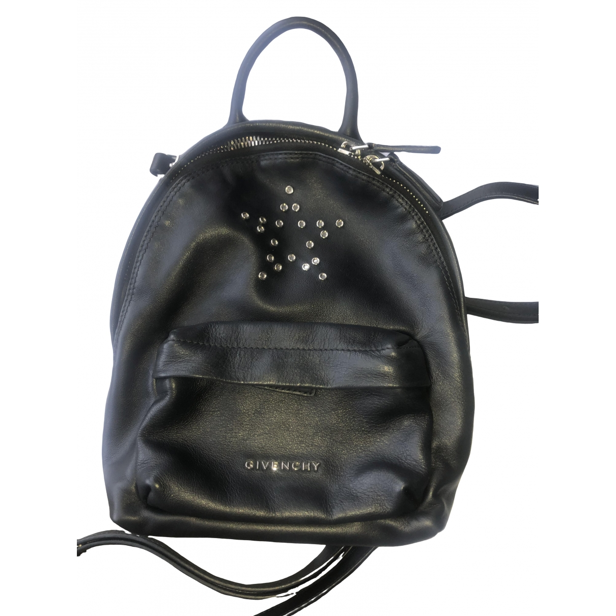 Givenchy \N Black Leather backpack for Women \N