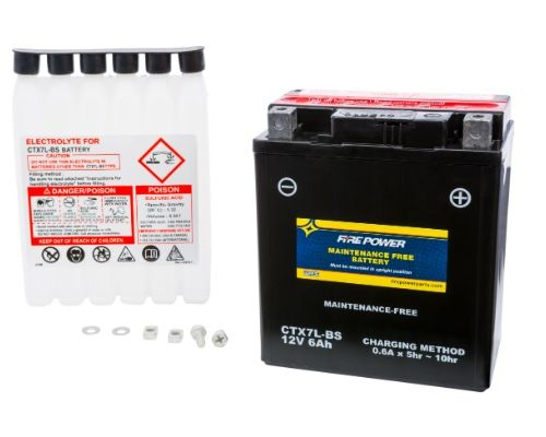 Fire Power Parts 49-2268 Battery Ctx7l-Bs Maintenance Free 49-2268