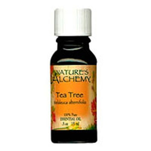 Pure Essential Oil Tea Tree 0.5 Oz by Natures Alchemy