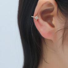 Rhinestone Decor Ear Cuff