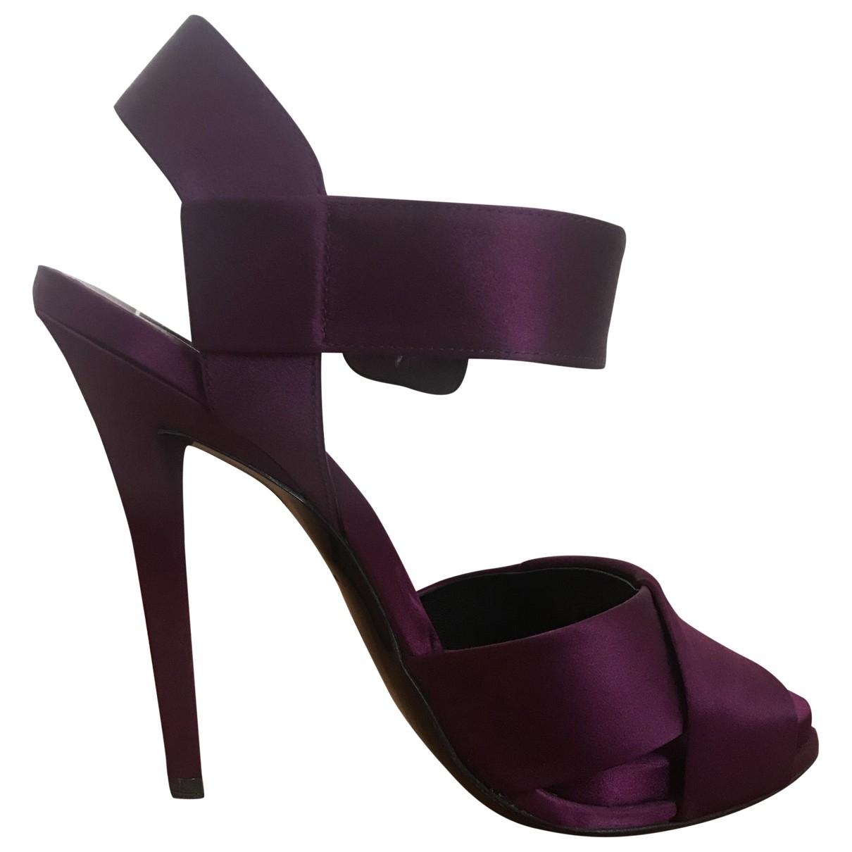 Sandalias de Lona Roger Vivier