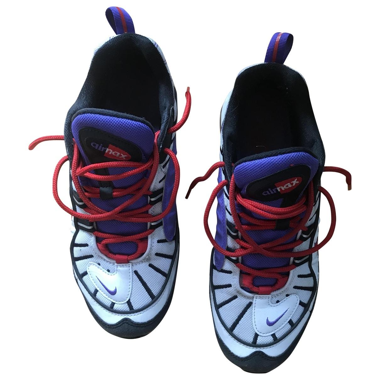 Nike - Baskets Air Max 98 pour homme en cuir - violet