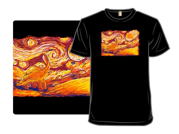 Starry Extinction T Shirt
