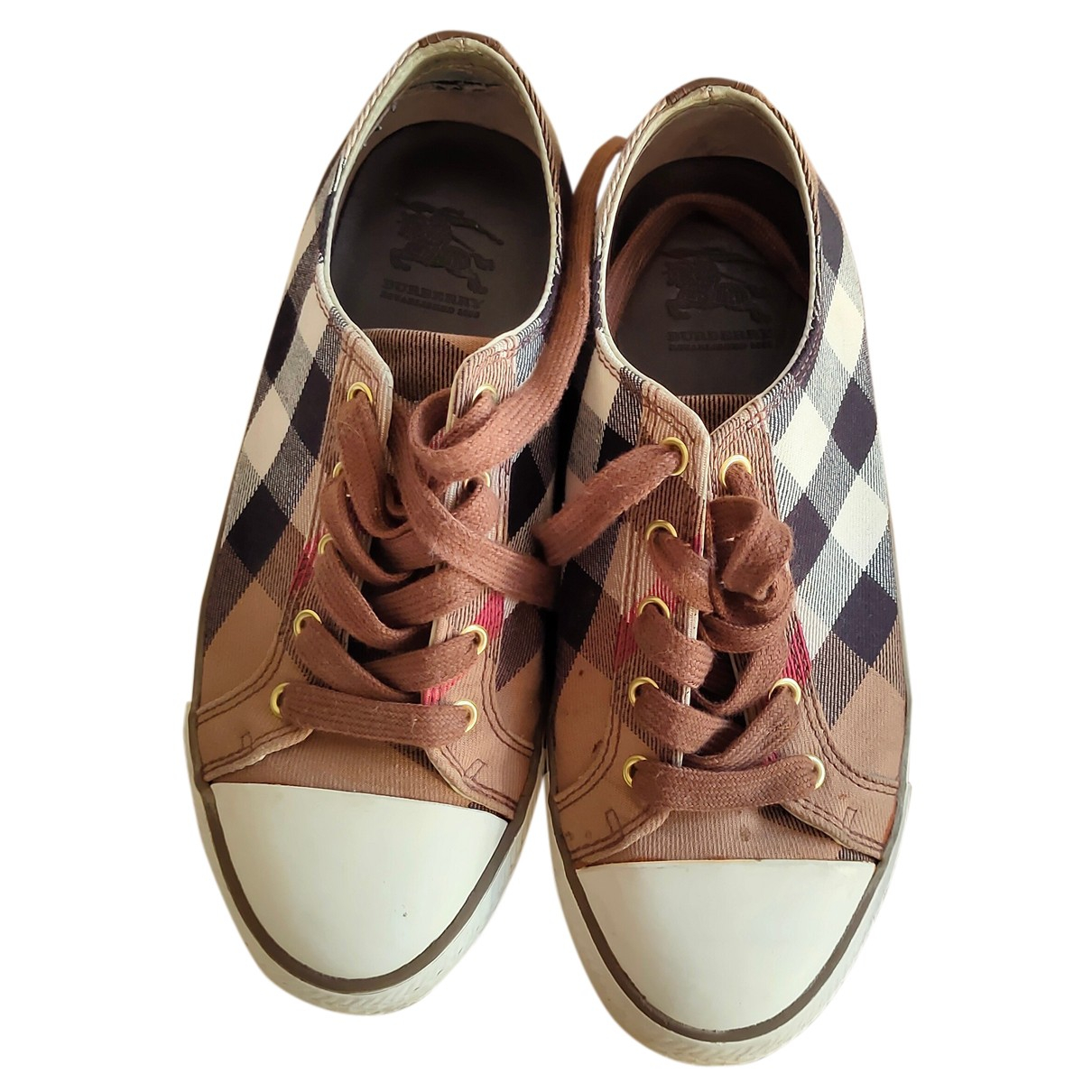 Burberry N Cloth Trainers for Women 37 EU