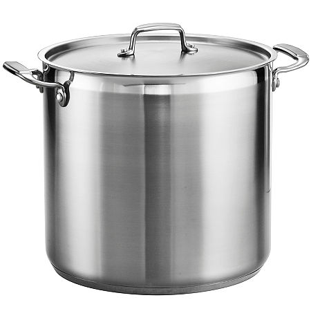 Tramontina Gourmet 20-qt. Tri-Ply Covered Stock Pot, One Size , Gray