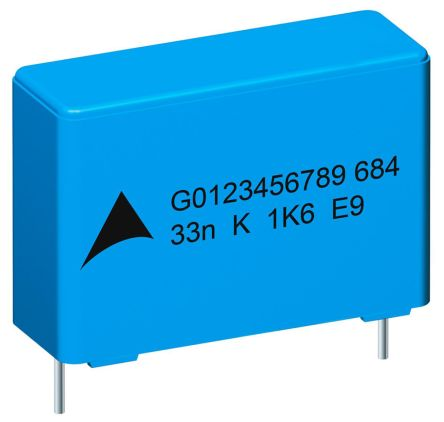 EPCOS 4.7nF Polypropylene Capacitor PP 1.25 kV dc, 450 V ac ±10% Tolerance B32682 Series (5)