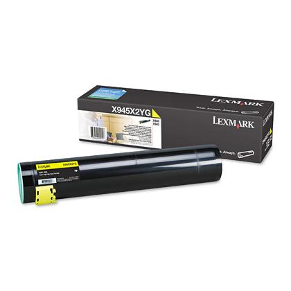 Lexmark X945X2YG Original Yellow Toner Cartridge High Yield