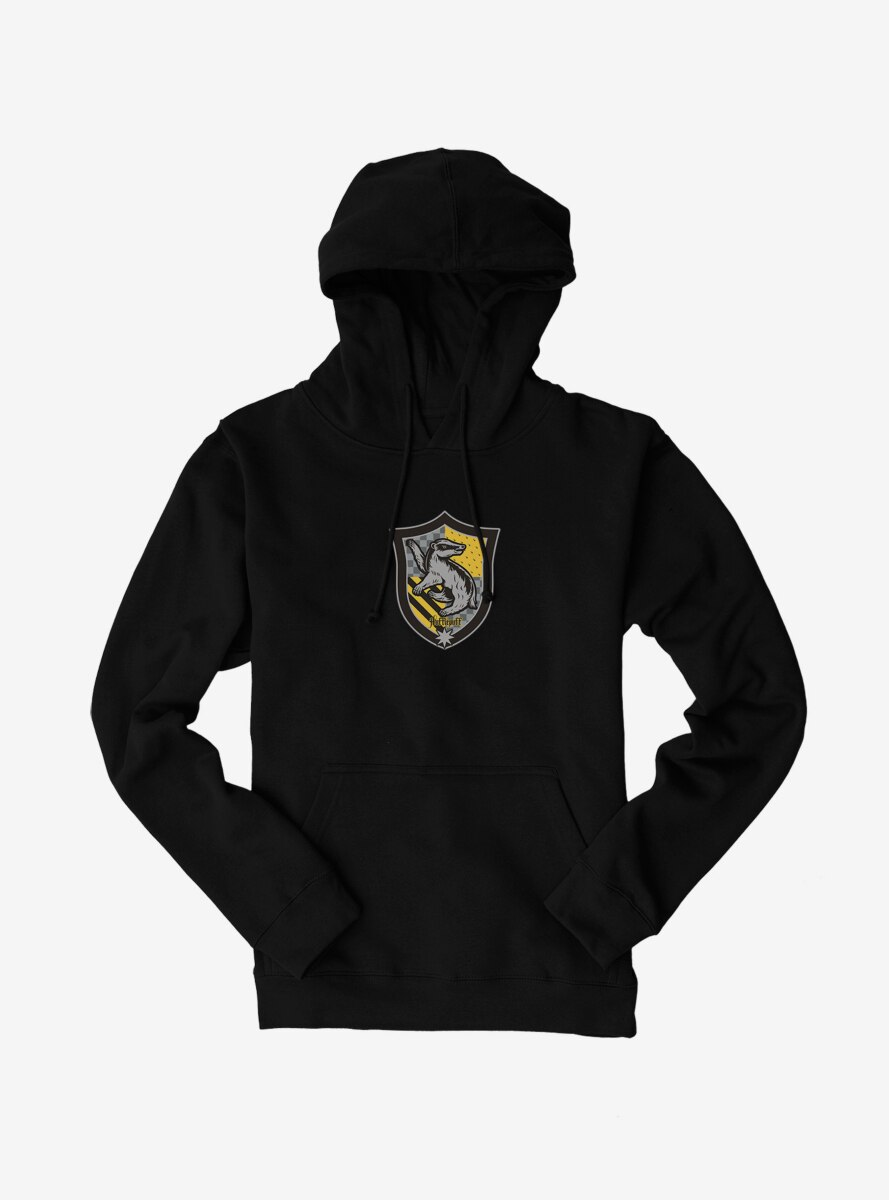 Harry Potter Hufflepuff Multiprint Shield Hoodie