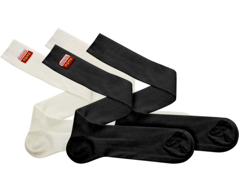 MOMO MNXLSCTWHS00 Comfort Tech Socks S White