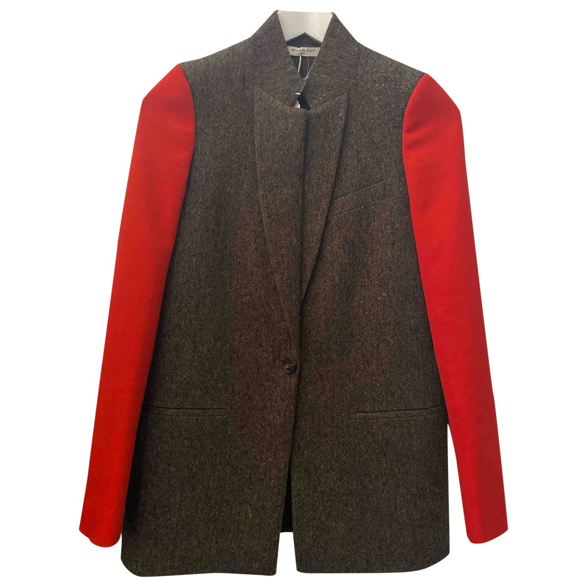 Givenchy \N Brown Wool jacket for Women 34 FR