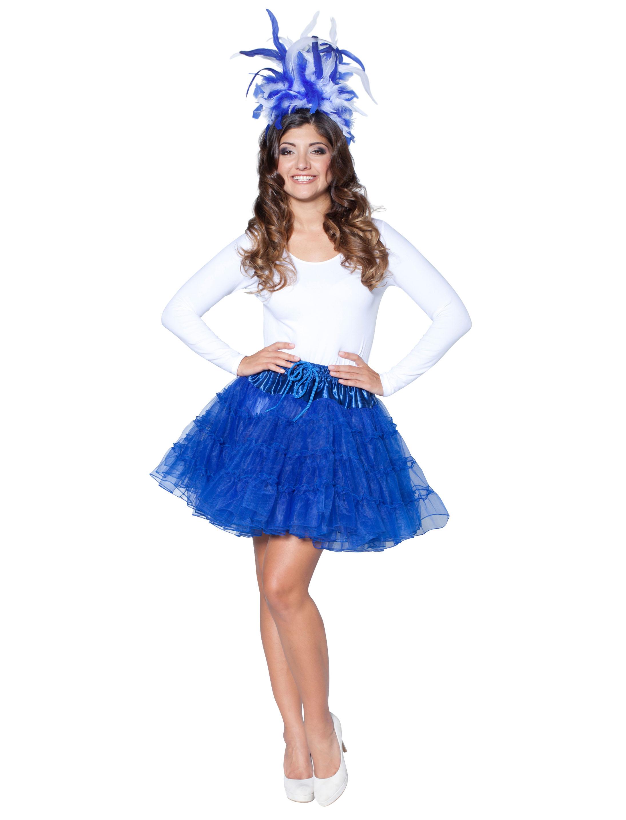 Petticoat de luxe blau