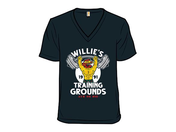 Willies Training Grounds T Shirt