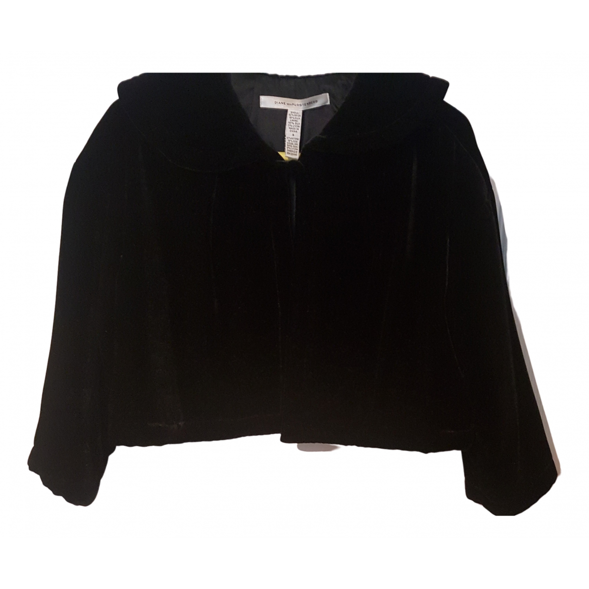 Diane Von Furstenberg - Veste   pour femme en soie - noir