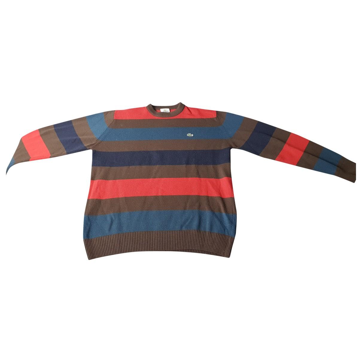 Lacoste \N Multicolour Cotton Knitwear & Sweatshirts for Men M International