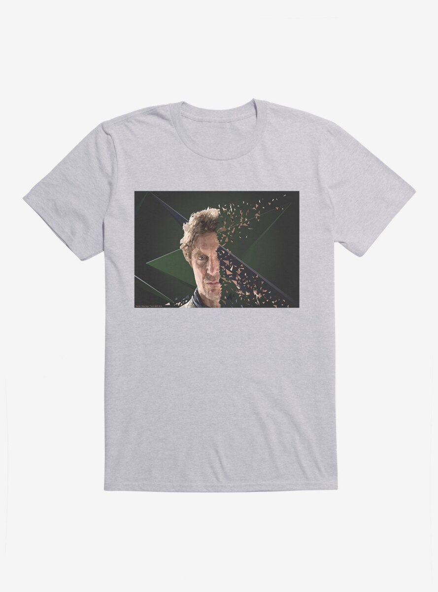 Doctor Who The Eighth Doctor Disintegration T-Shirt