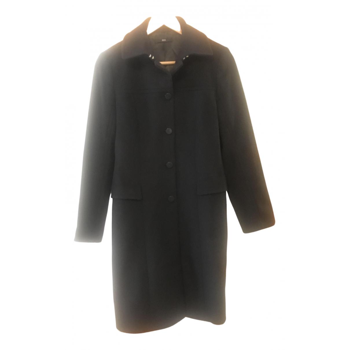Hugo Boss \N Black Wool coat for Women M International