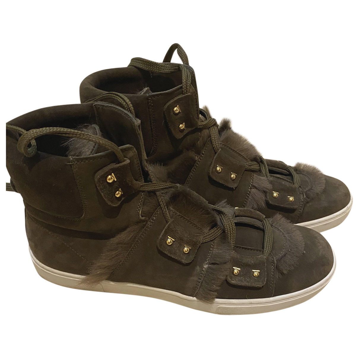 Salvatore Ferragamo \N Sneakers in Leder