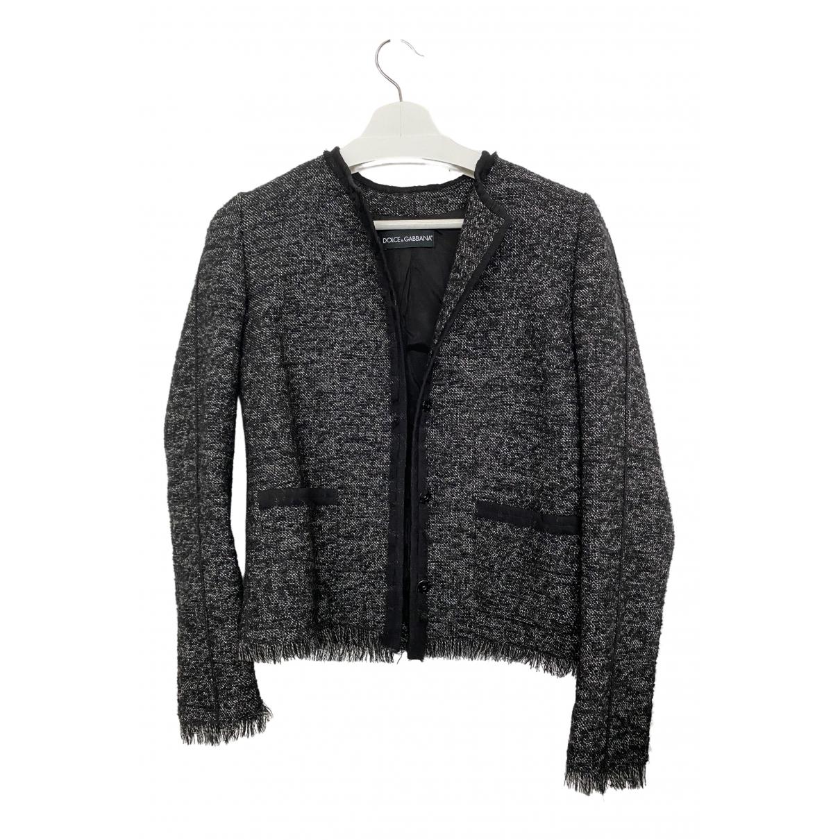 Dolce & Gabbana \N Jacke in  Bunt Tweed