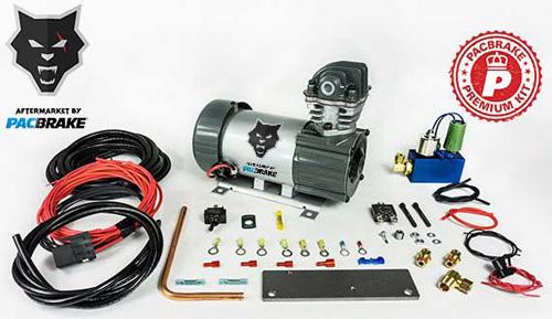 Pacbrake HP10630 24V HP625 Series Heavy Duty Air Compressor Kit Vertical Pump Head HP10625V-24 Air Compressor Entire Unloader Block Assembly Kit W/Pre