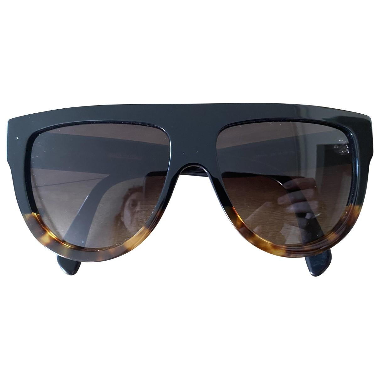 Celine Shadow Black Sunglasses for Women \N