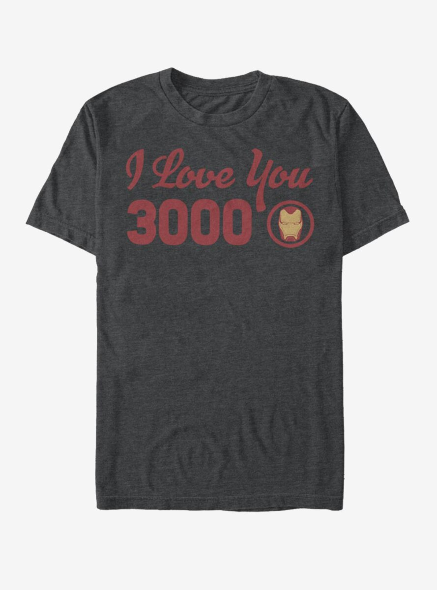 Marvel Iron Man Love You Icon T-Shirt
