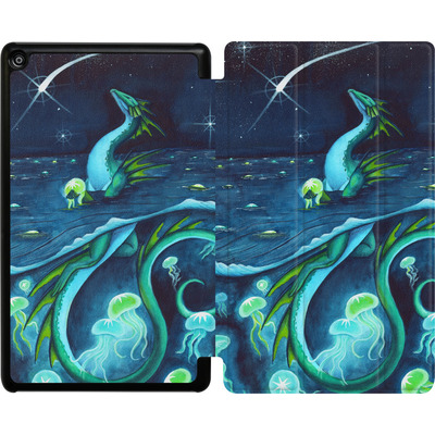 Amazon Fire HD 8 (2018) Tablet Smart Case - Carla Morrow - Sea of Stars von TATE and CO