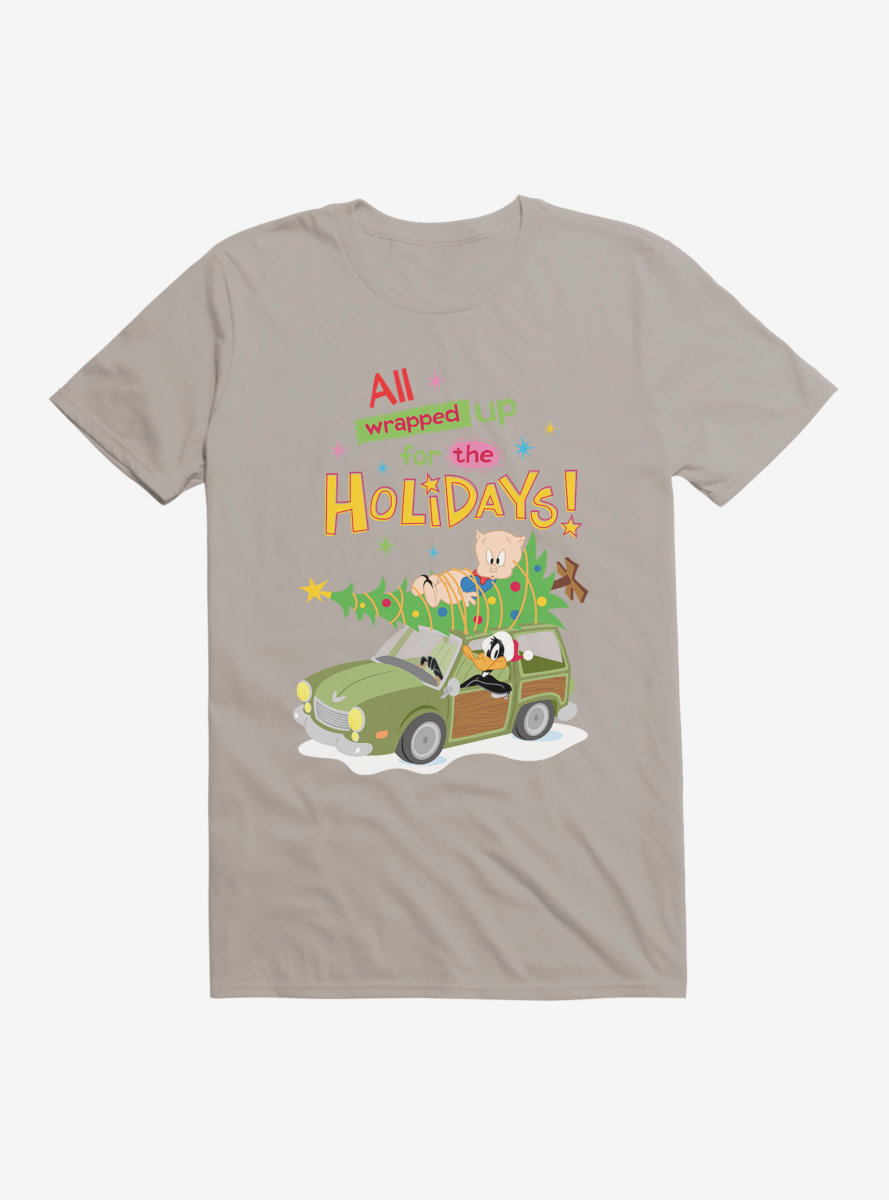 Looney Tunes Holiday All Wrapped Up T-Shirt