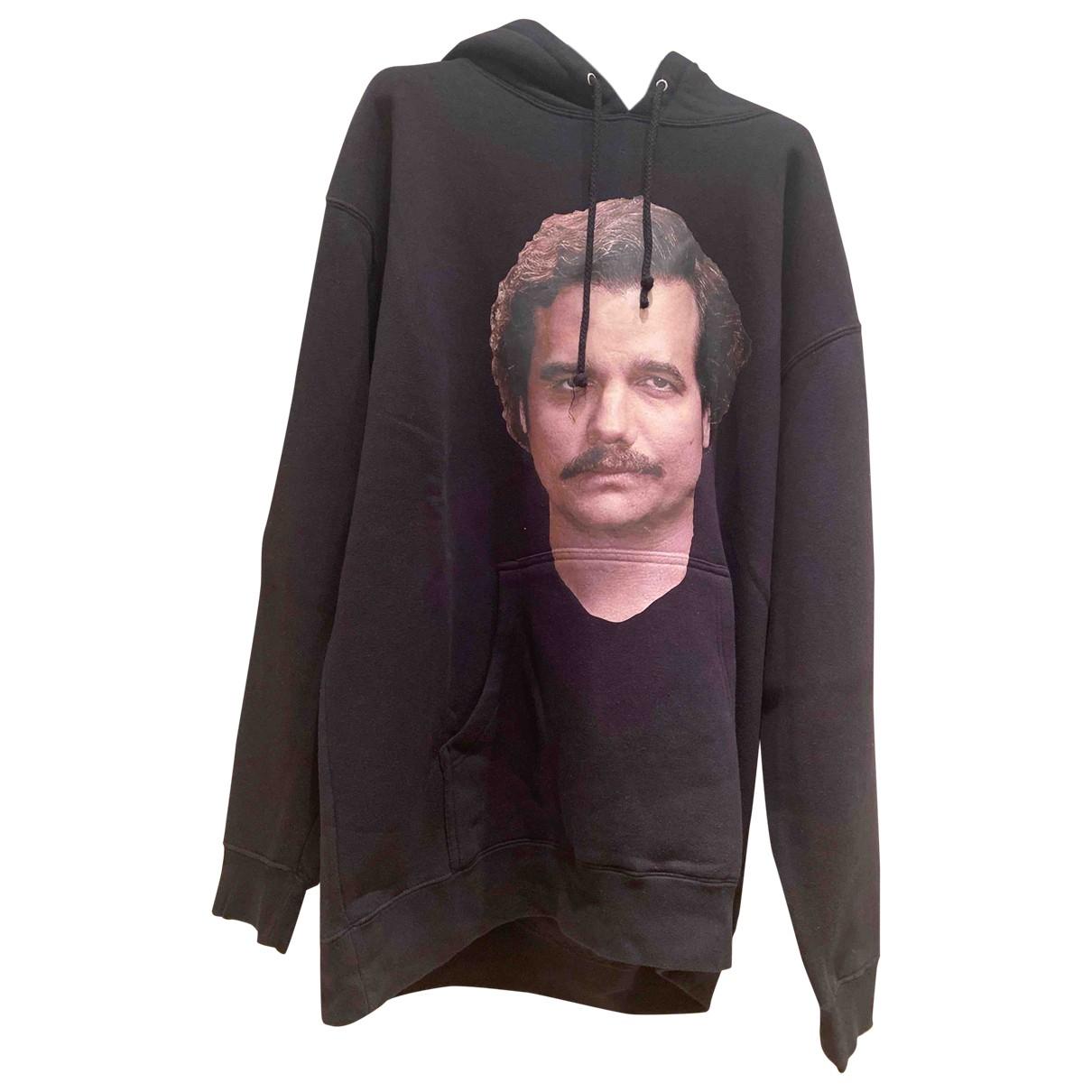 Ih Nom Uh Nit \N Pullover.Westen.Sweatshirts  in  Schwarz Baumwolle
