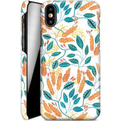 Apple iPhone XS Smartphone Huelle - Wild Leaves von Iisa Monttinen
