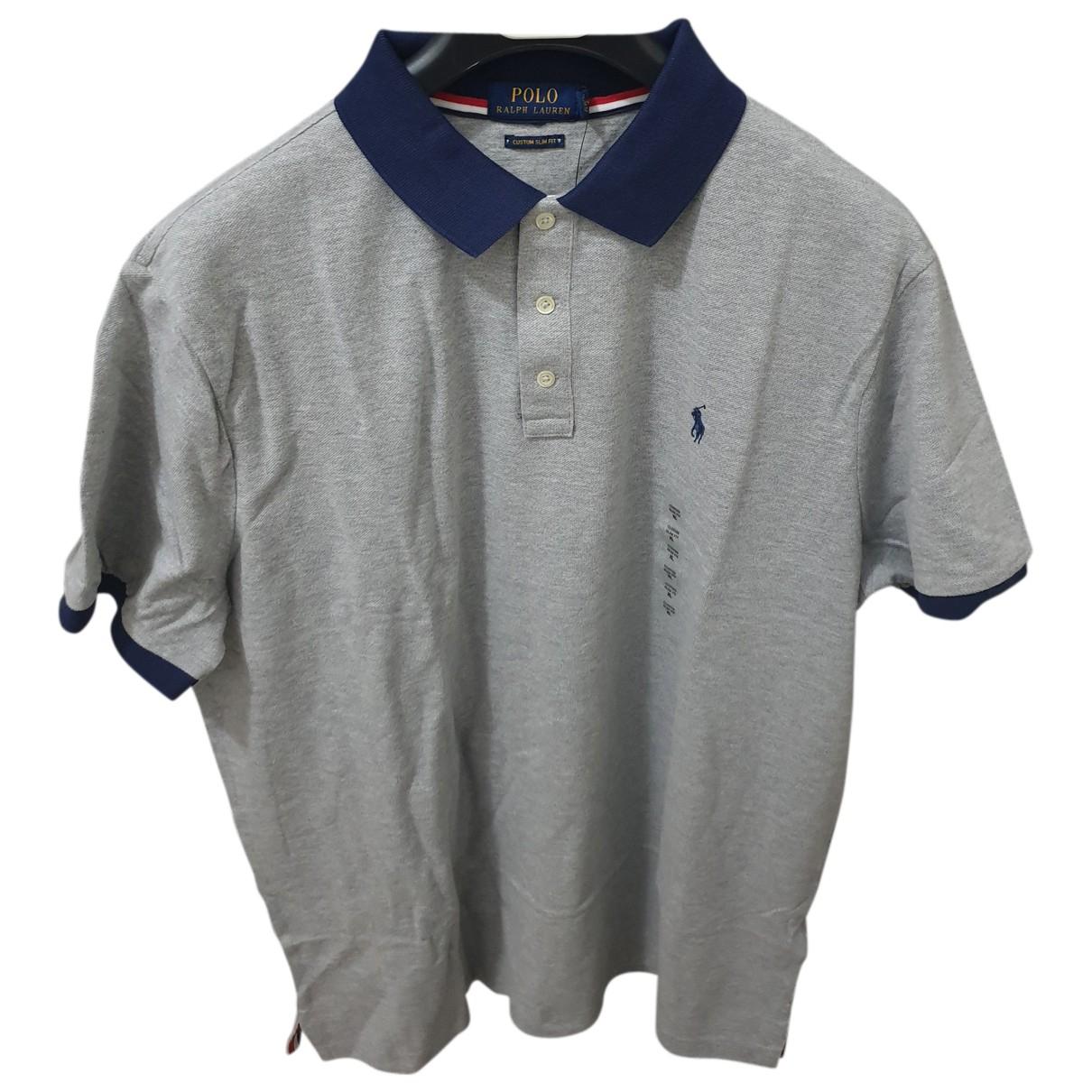 Ralph Lauren - Polos   pour homme en coton - gris