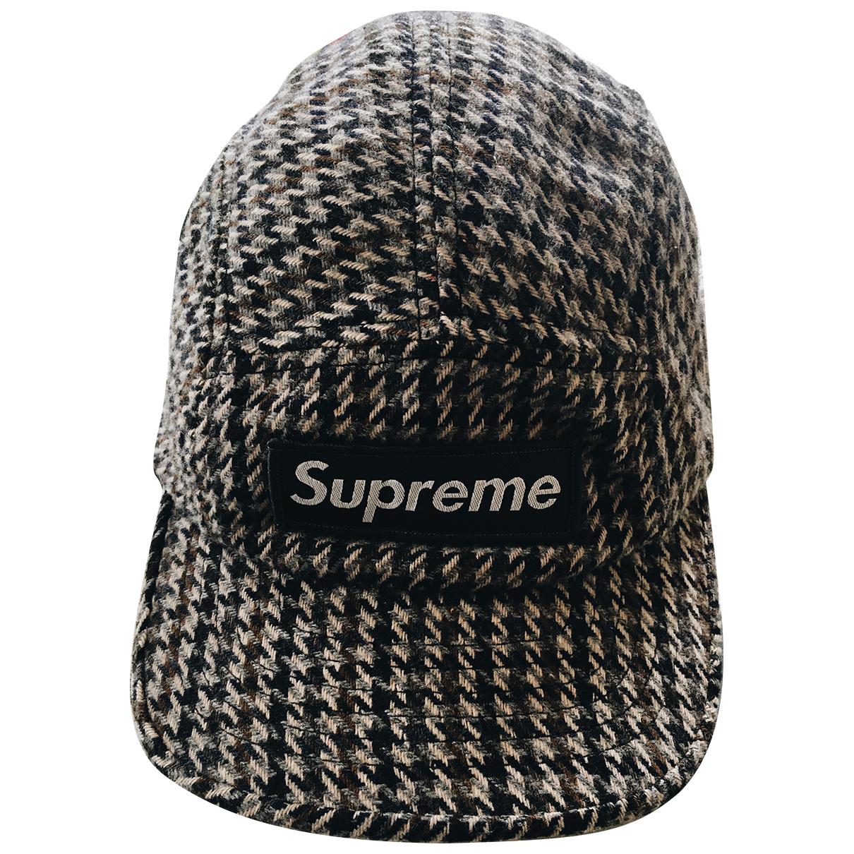 Supreme \N Multicolour Wool hat & pull on hat for Men S International