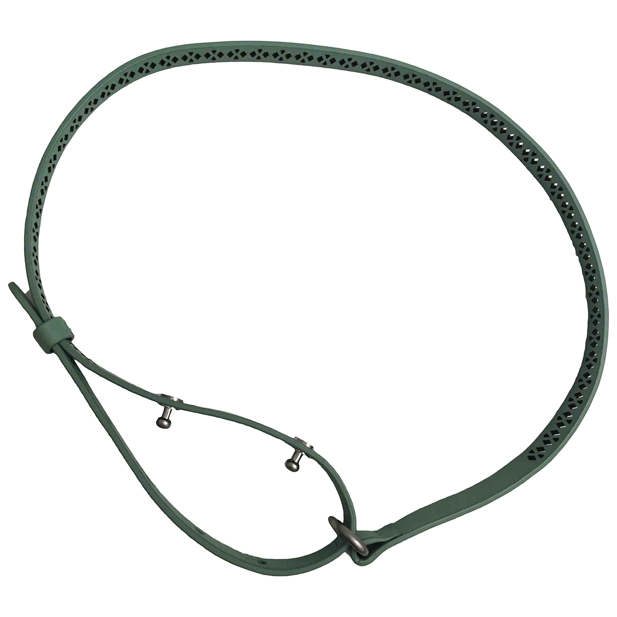 Vanessa Bruno Athe \N Green Leather belt for Women 75 cm