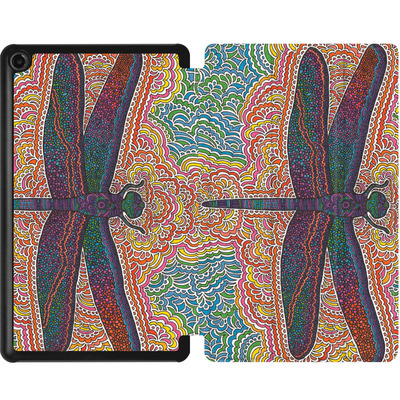 Amazon Fire 7 (2017) Tablet Smart Case - Dragonfly Colors  von Kaitlyn Parker