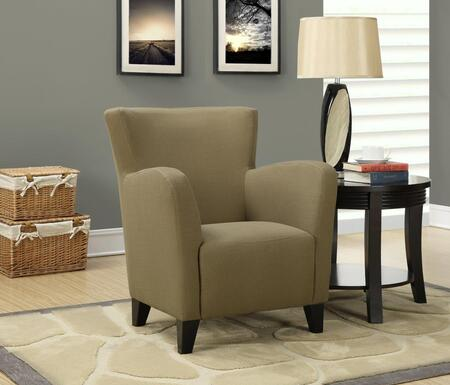 I 8066 Accent Chair - Brown Linen