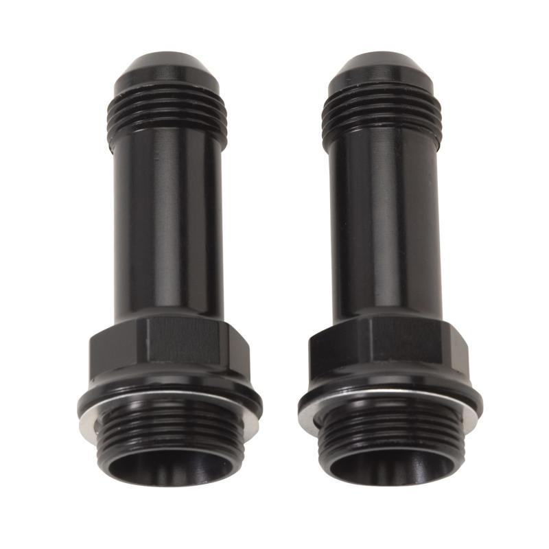 Russell ADAPTER FITTING 7/8in.-20 X #8 AN MALE FLARE EXTENDED CARB FITTING W/REDUCED HEX