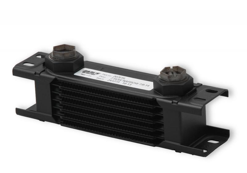 Earl's Performance 207ERL 7 ROW ULTRAPRO COOLER NARROW BLACK