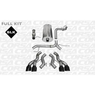 Corsa Sport Cat-Back Exhaust System - 14886BLK