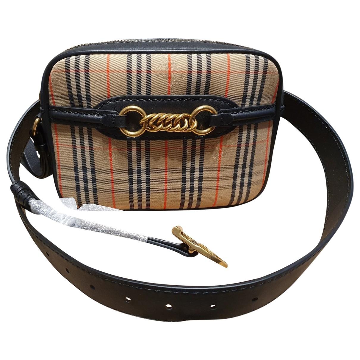 Burberry The Link  Leather handbag for Women \N