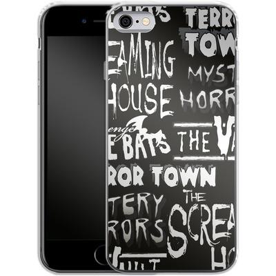 Apple iPhone 6s Silikon Handyhuelle - Terror Town Patterns von caseable Designs