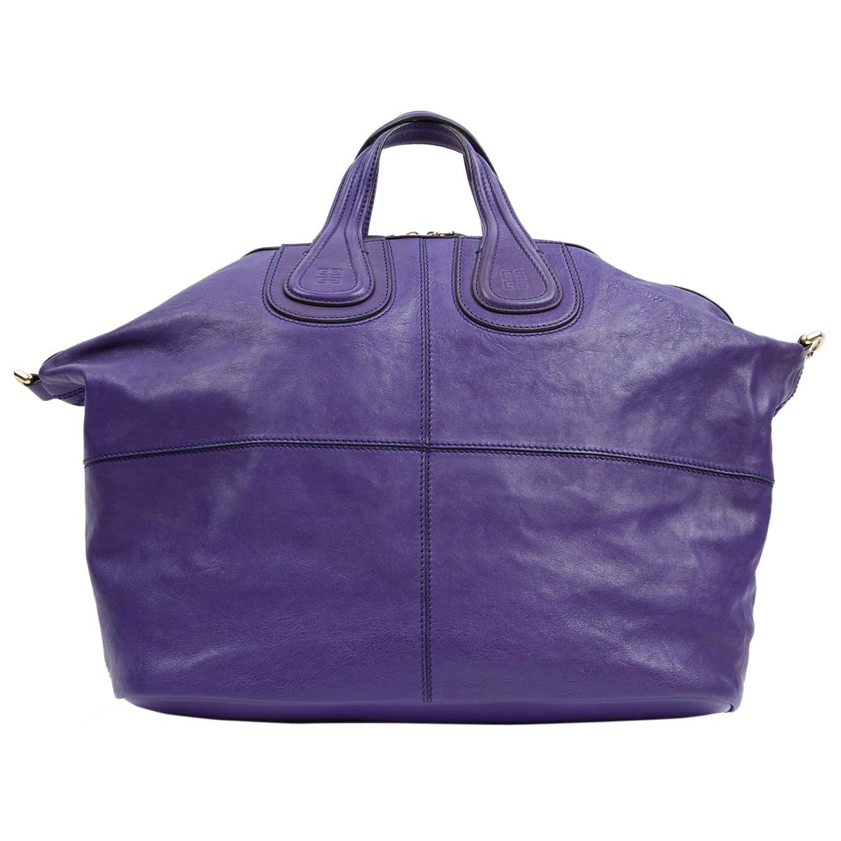 Givenchy \N Blue Leather handbag for Women \N
