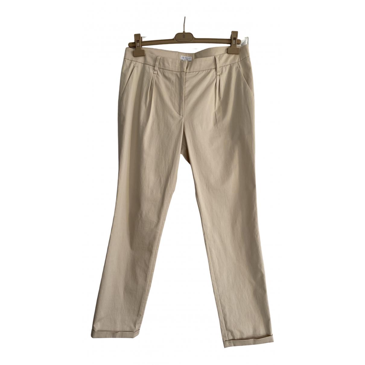 Pantalon recto Brunello Cucinelli