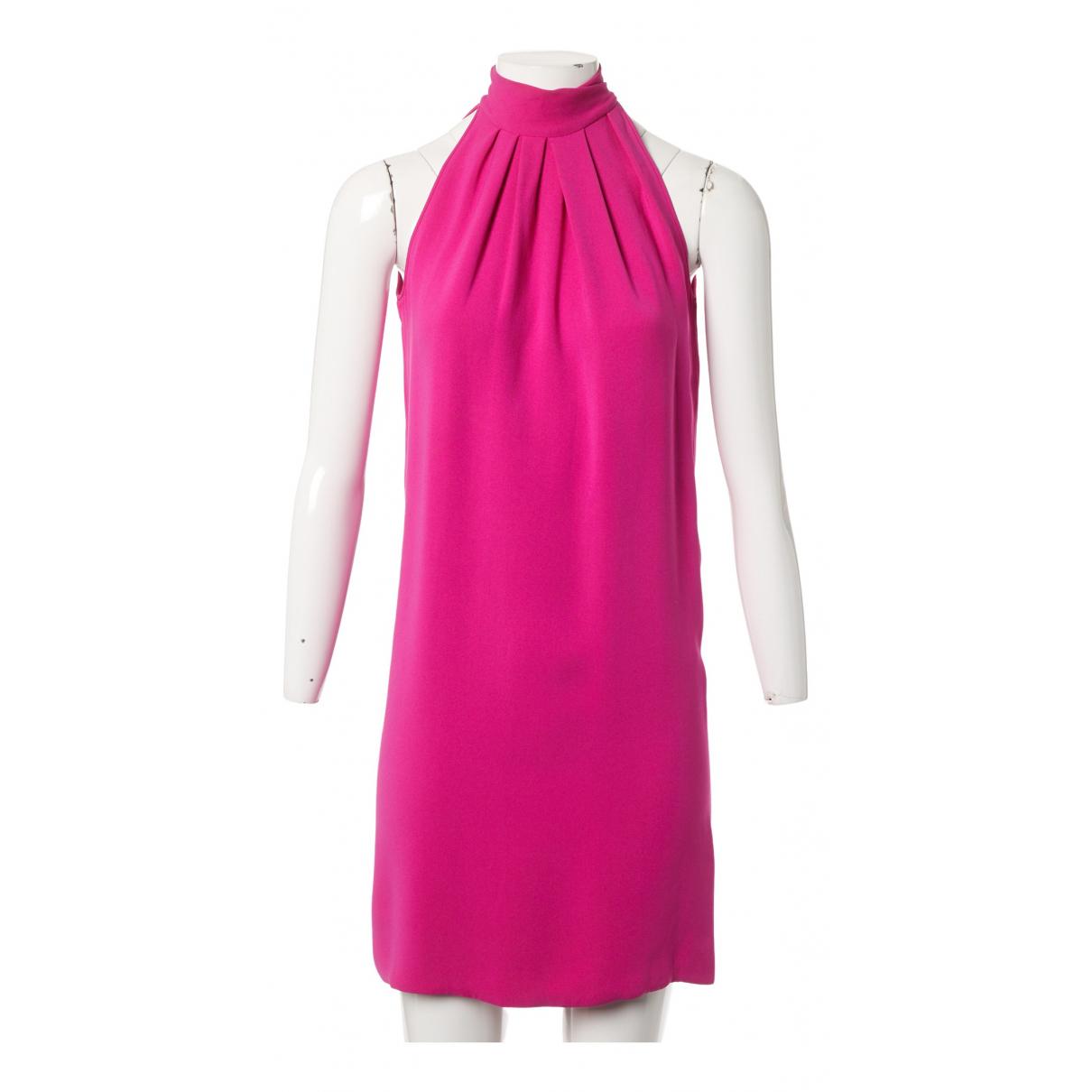Christian Dior N Pink Silk dress for Women 34 FR